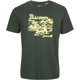 Elkline Discover T-Shirt Heren, trekking green/vw